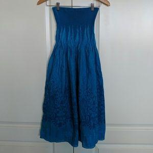 Dresses & Skirts - Lapis Tube Top Dress